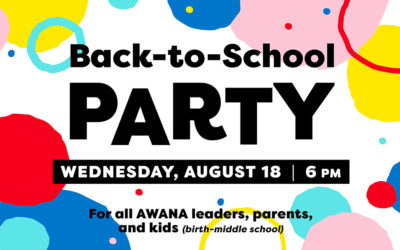 Back-to-School Party for the Whole Family